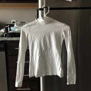 Everlane mockneck shirt